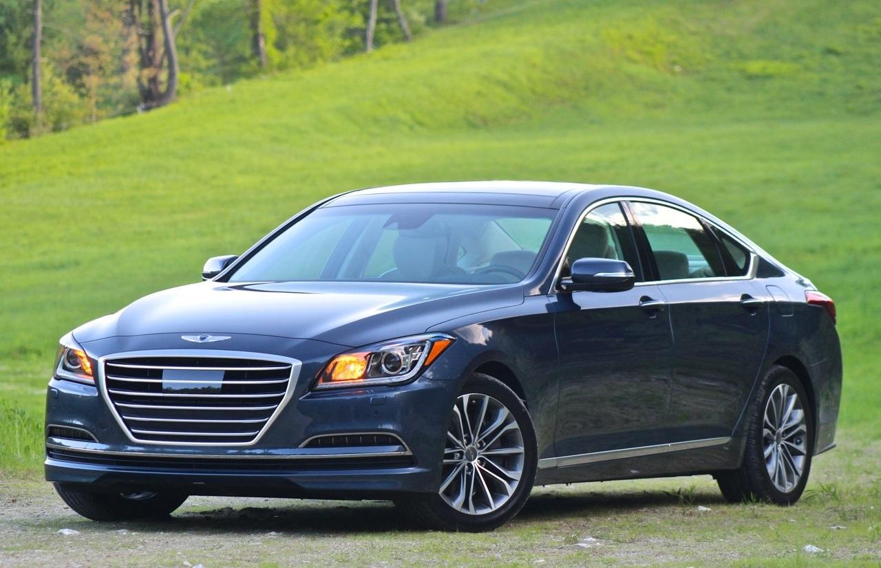 2015 Hyundai Genesis Front Side Photo