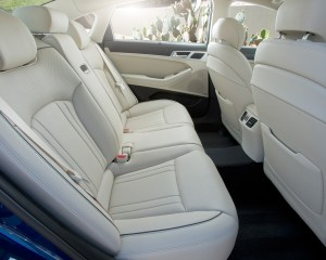 2015 Hyundai Genesis Rear Seat Interior