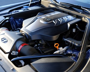 2015 Hyundai Genesis V8 Engine View