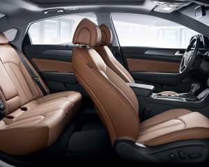2015 Hyundai Sonata Interior View