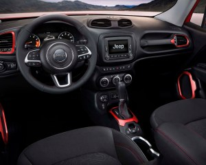 2015 Jeep Renegade Trailhawk Front Seat and Dashboard