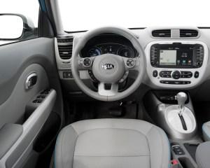 2015 Kia Soul EV Interior Dash