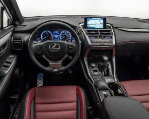 2015 Lexus NX Dashboard Head Unit