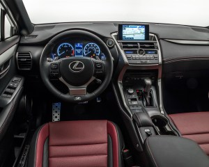 2015 Lexus NX Dashboard Head Unit