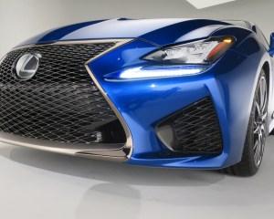 2015 Lexus RC F Front Grille Details