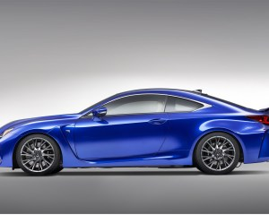 2015 Lexus RC F Side Profile