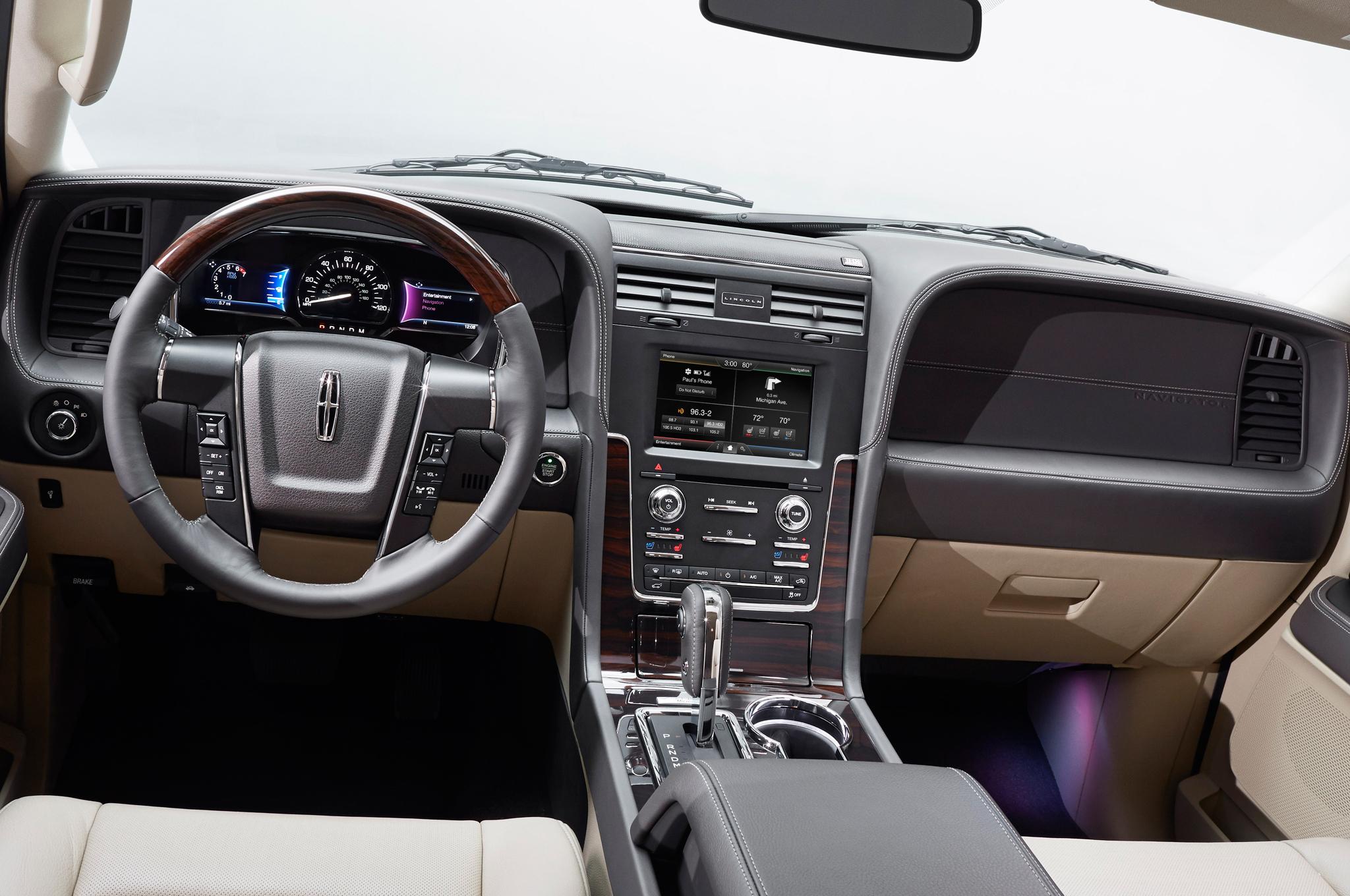 2015 Lincoln Navigator Dashboard Panel and Head Unit