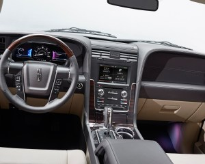 2015 Lincoln Navigator Dashboard Panel and Head Unit