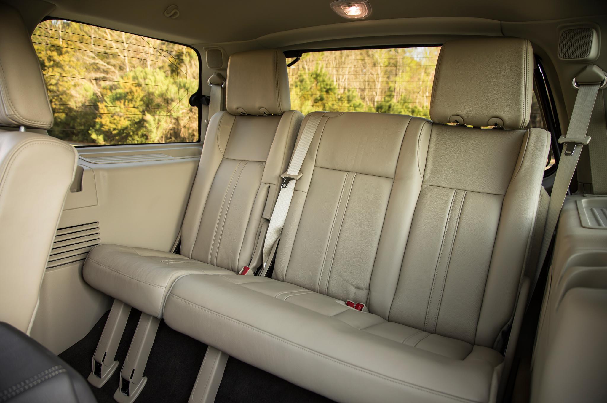 2015 Lincoln Navigator Third Seats Interior