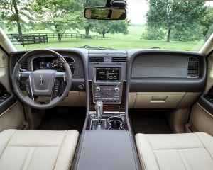 2015 Lincoln Navigator View from Front Seat