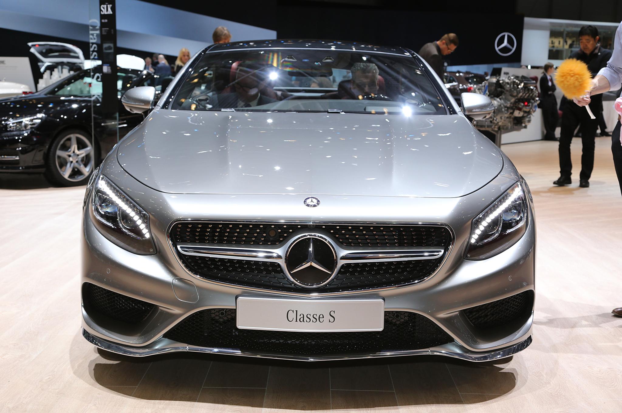 2015 Mercedes-Benz S-Class Coupe Auto Show