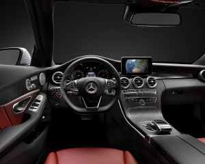 2015 Mercedes-Benz S-Class Coupe Cockpit View