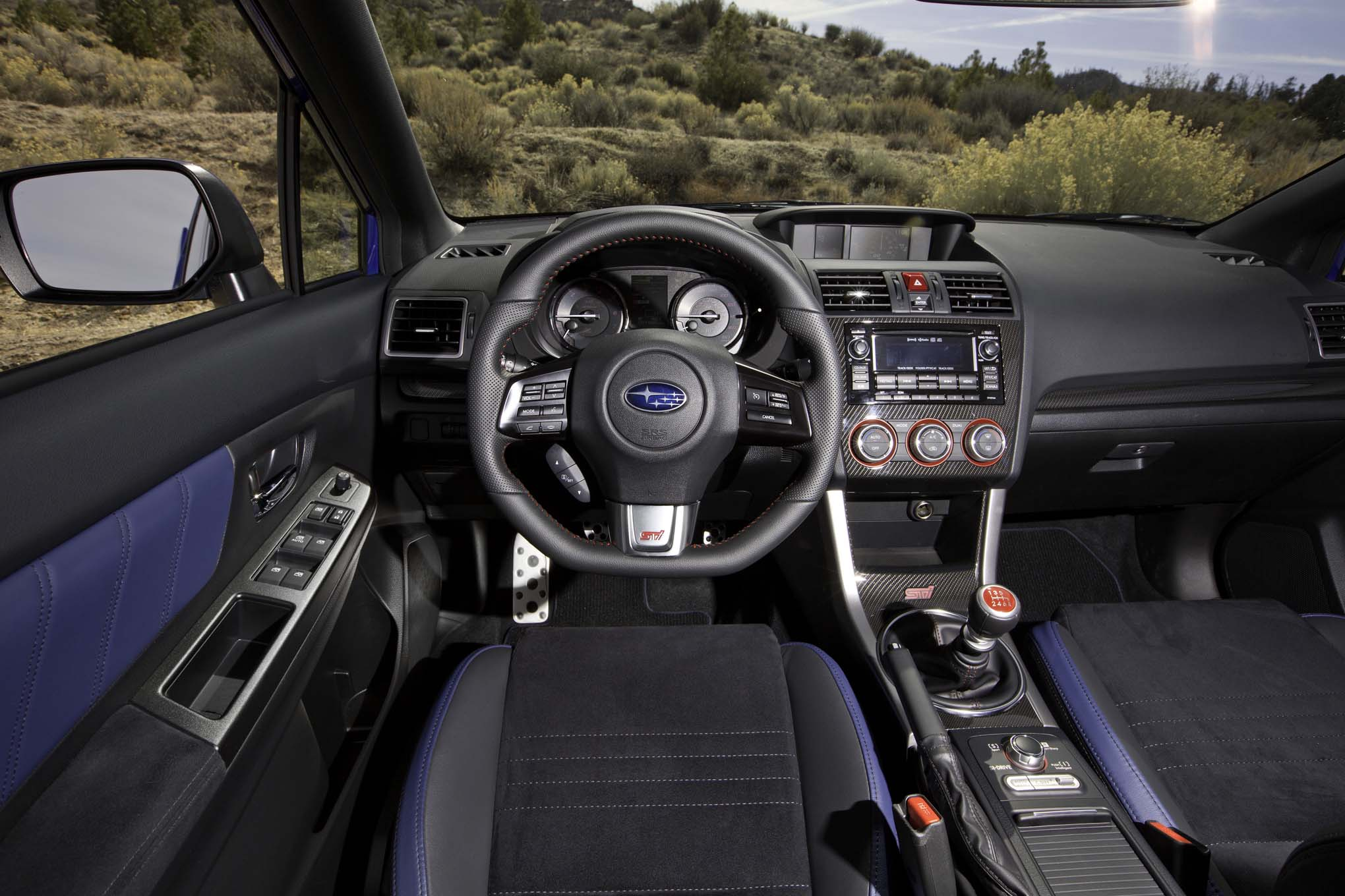2015 Subaru WRX-STI Dashboard Cockpit Panels