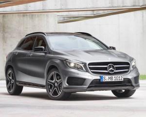 All New 2015 Mercedes-Benz GLA-Class Exterior