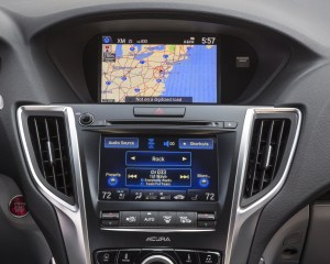 2015 Acura TLX 3.5L SH-AWD Interior Center Head Unit