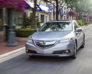 2015 Acura TLX 3.5L SH-AWD Test Front View