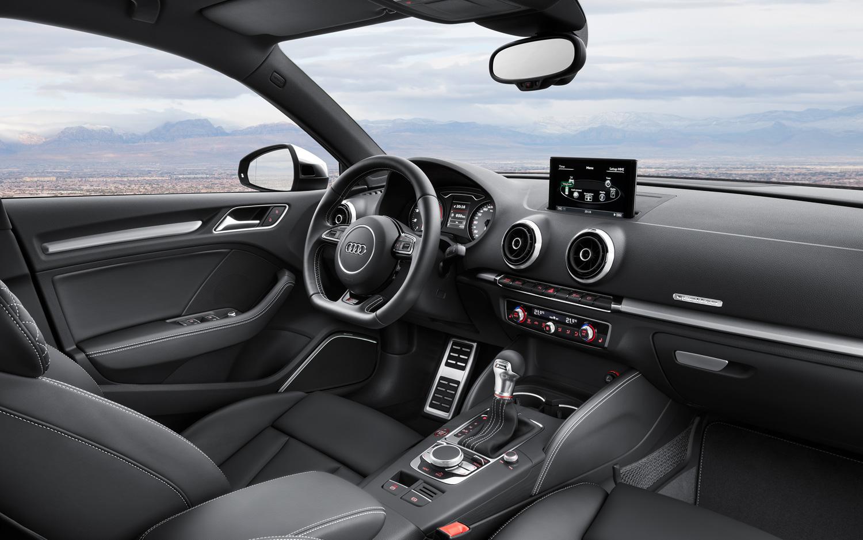 2015 Audi S3 Sedan Front Interior