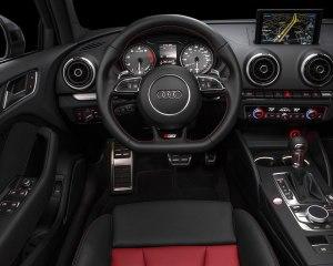 2015 Audi S3 Sedan Limited Edition Cockpit Interior