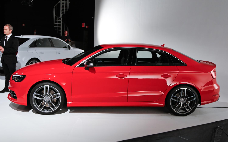 2015 Audi S3 Sedan Side View Auto Show