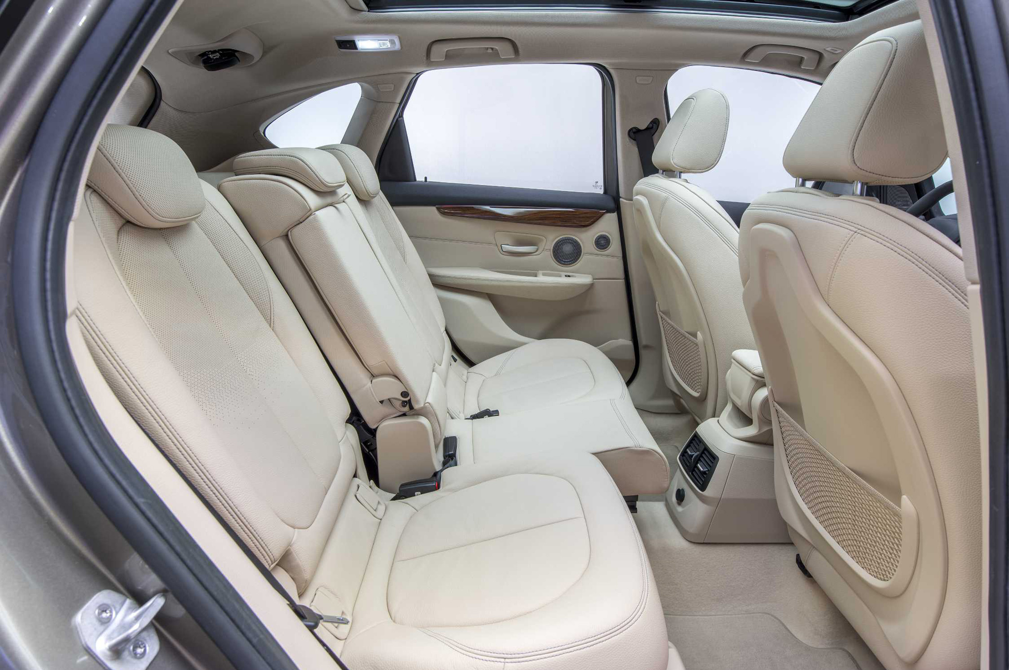 2015 BMW 2 Series Active Tourer 225i Rear Seats Interior