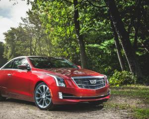 2015 Cadillac ATS Coupe Exterior Profile