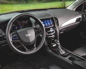 2015 Cadillac ATS Coupe Interior Dashboard Photo