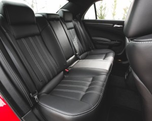 2015 Chrysler 300 Rear Seats Interior