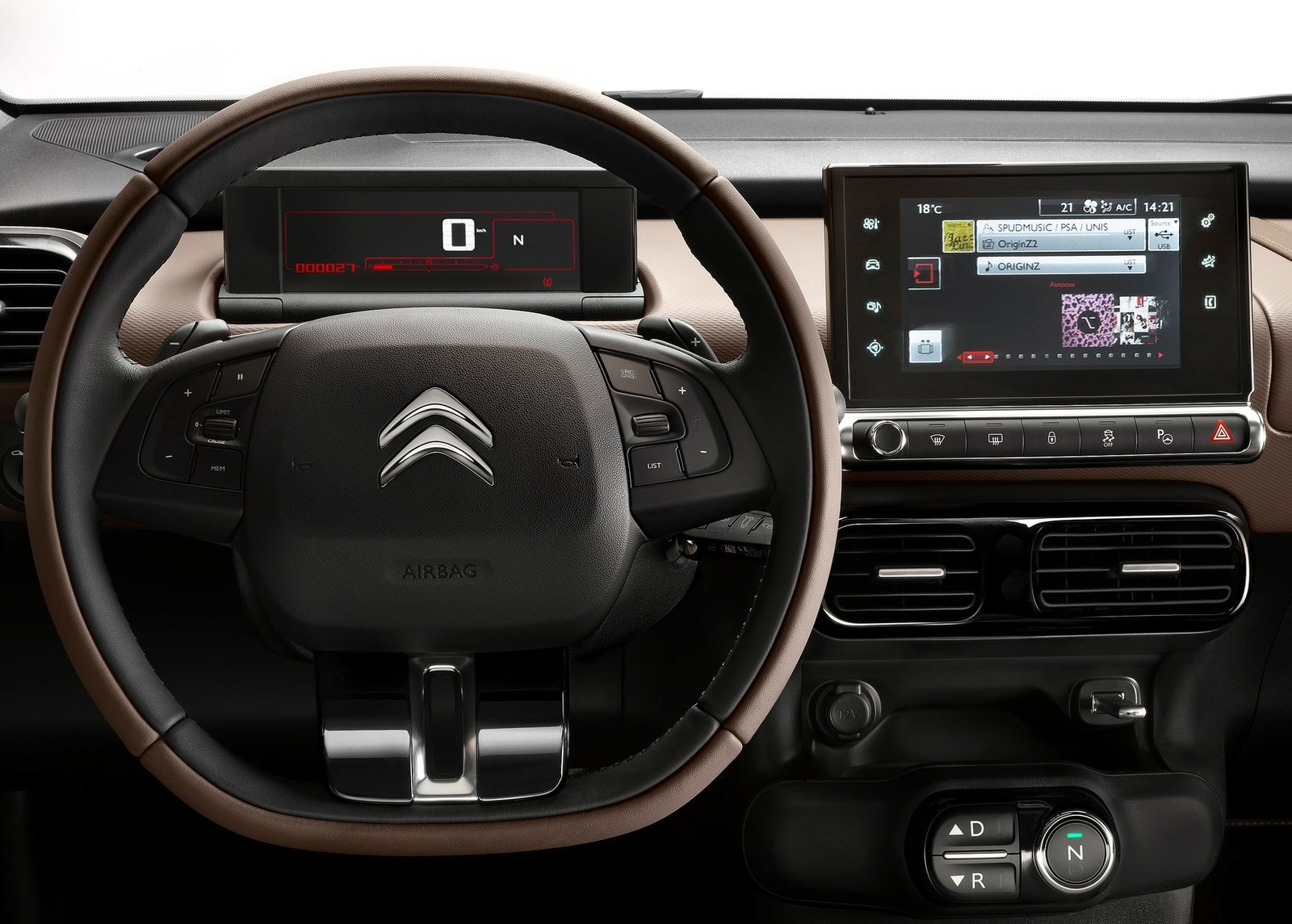 2015 Citroen C4 Cactus Streering and Speedometer