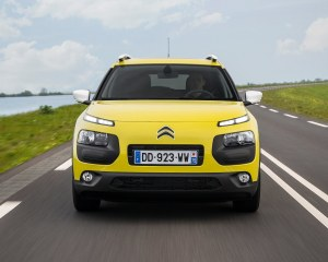 2015 Citroen C4 Cactus Yellow Front End Exterior
