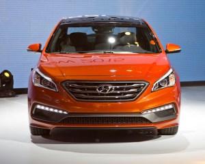 2015 Hyundai Sonata Front Exterior Profile