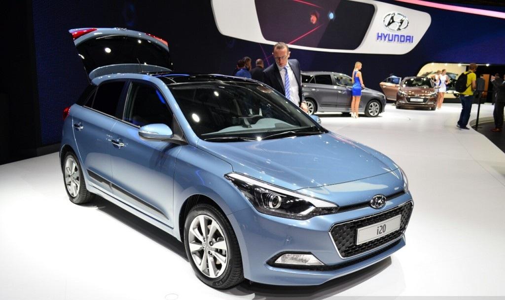 2015 Hyundai i20 Facelift Preview in Paris Motor Show