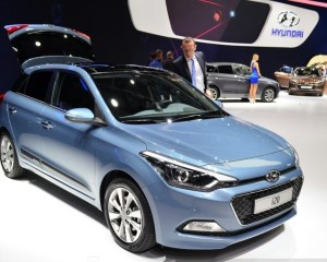 2015 Hyundai i20 Facelift Preview in Paris Motor Show