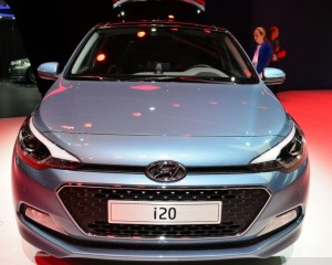2015 Hyundai i20 Front Design Preview