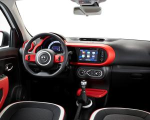 2015 Renault Twingo Dashboard View