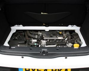 2015 Renault Twingo Rear Engine View