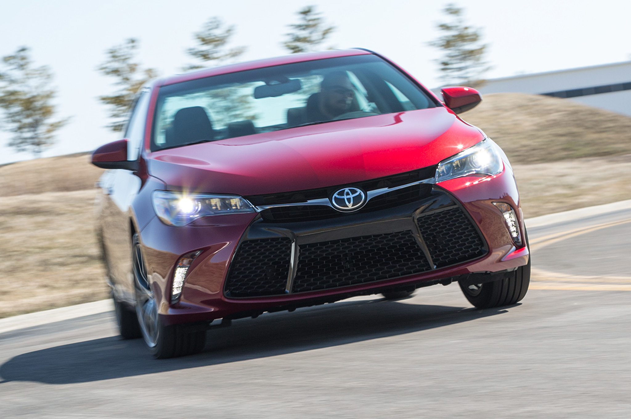 2015 Toyota Camry Front View