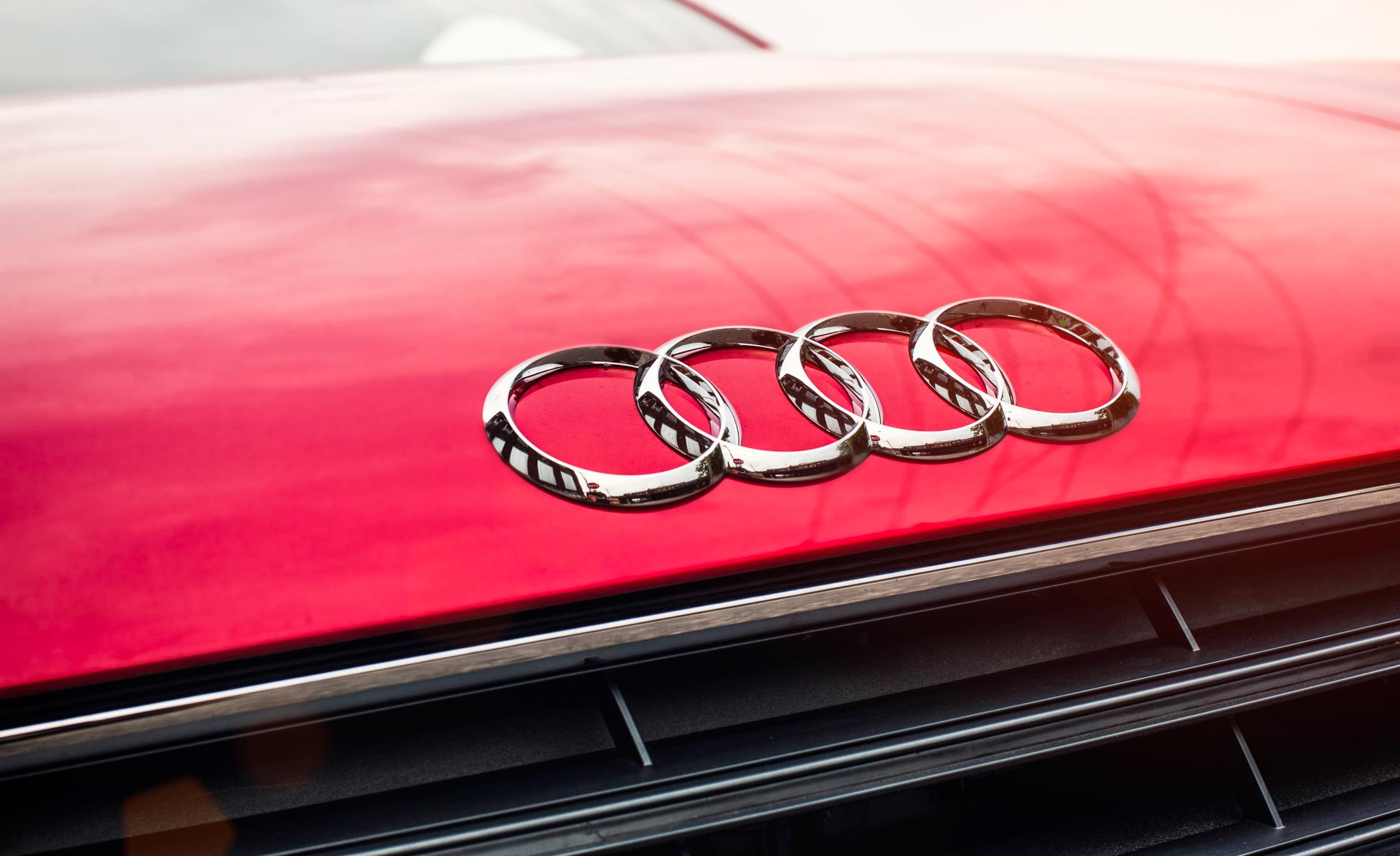 2016 Audi TT Coupe Exterior Front Badge