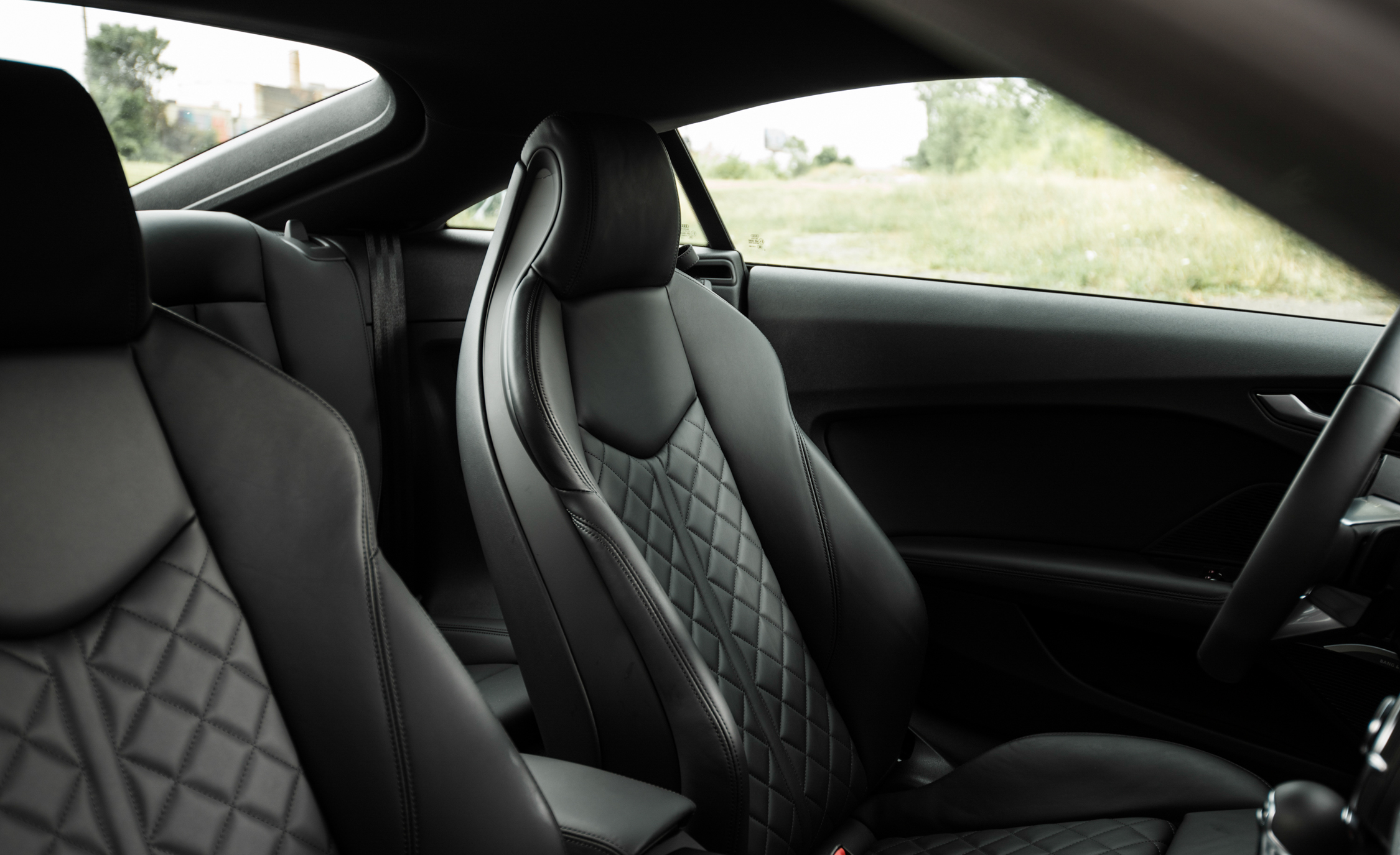 2016 Audi TT Coupe Interior Front Seats
