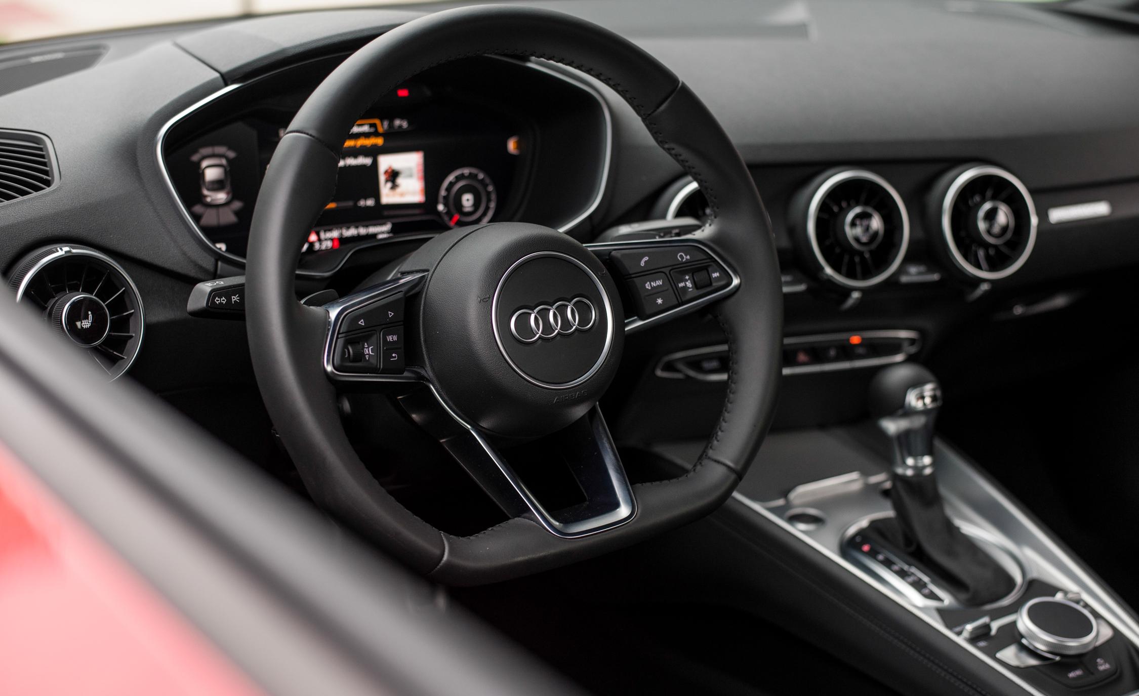 2016 Audi TT Coupe Interior Steering