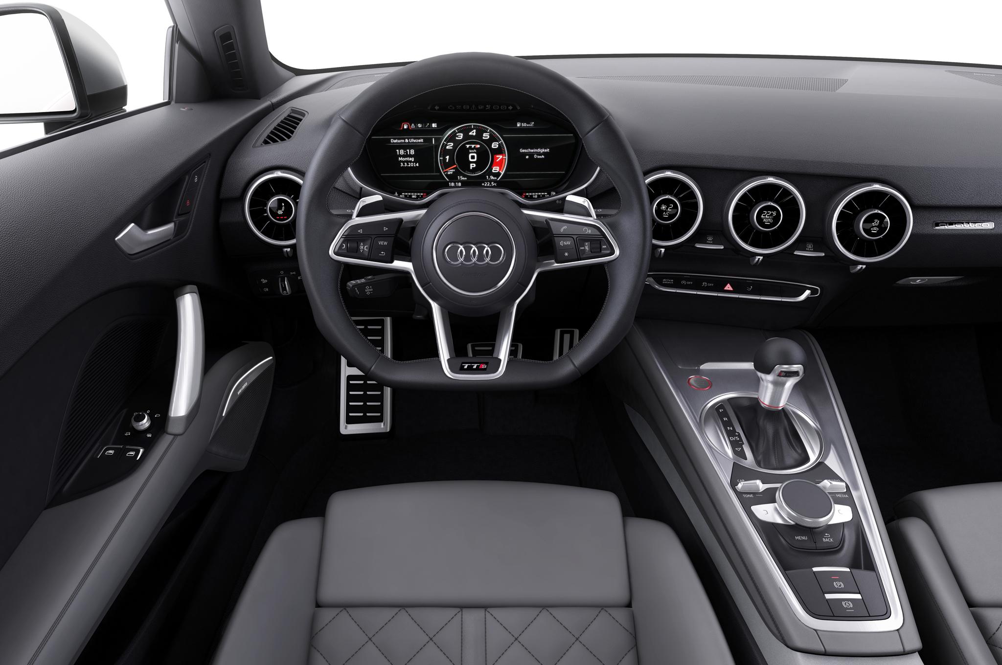 2016 Audi TT Interior Cockpit and Dashboard