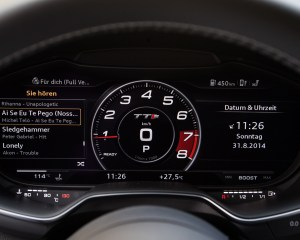 2016 Audi TTS Interior Speedometer