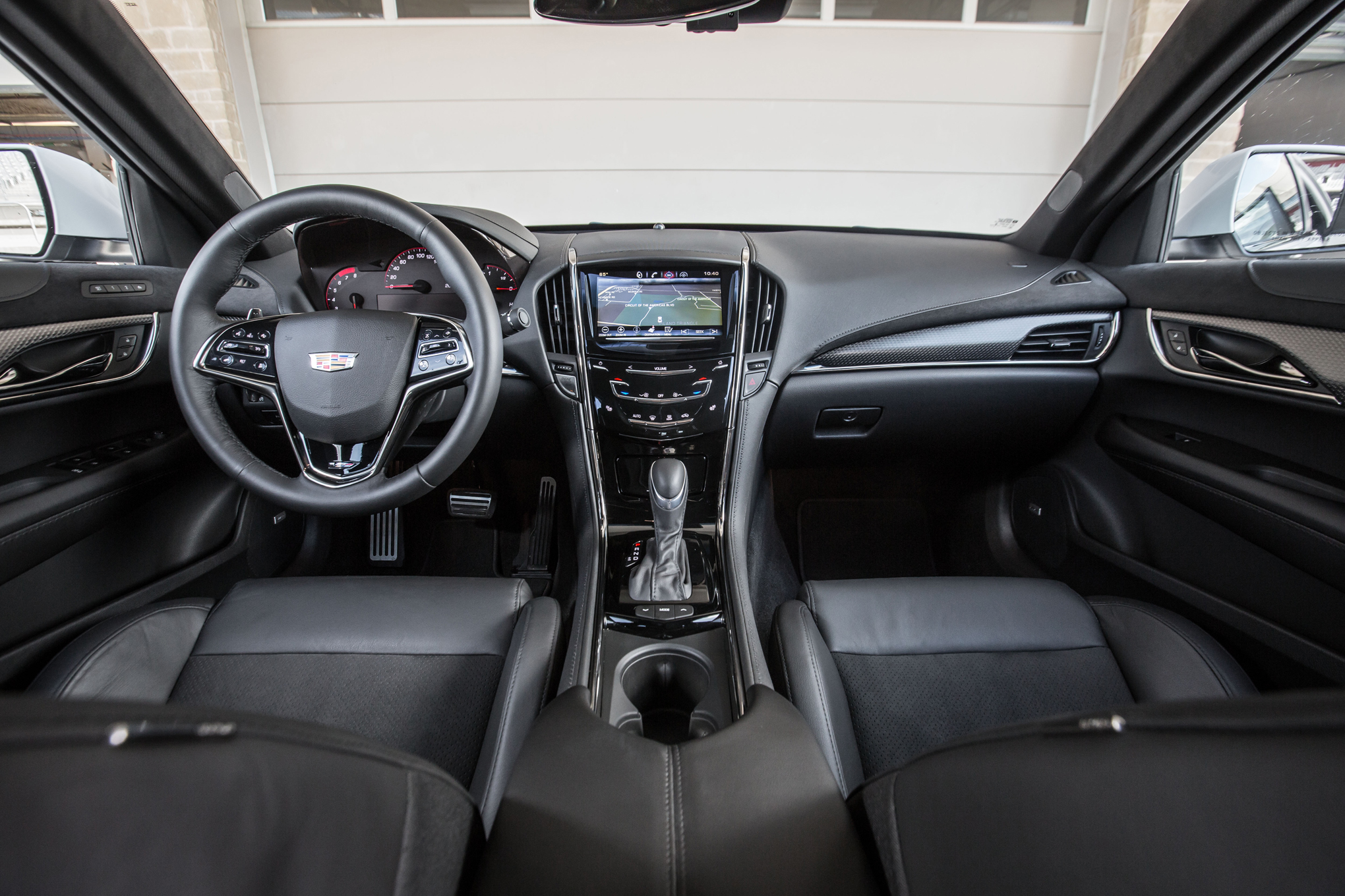 2016 Cadillac ATS-V Coupe Front Interior