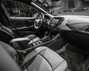 2016 Chevrolet Cruze RS Interior