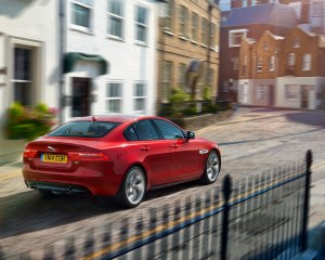 2016 Jaguar XE Front Side View
