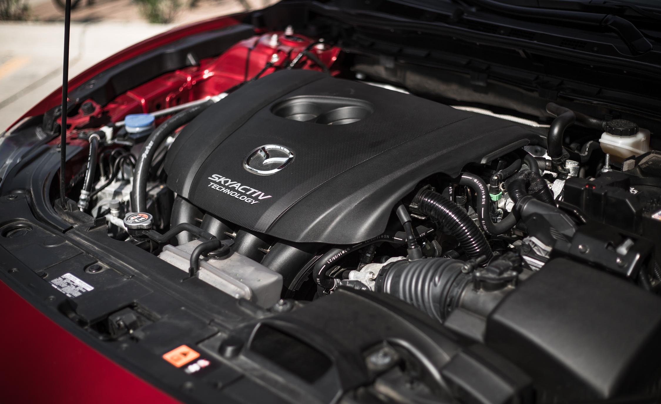 2016 Mazda 6 Touring 2.5-Liter Inline-4 Engine