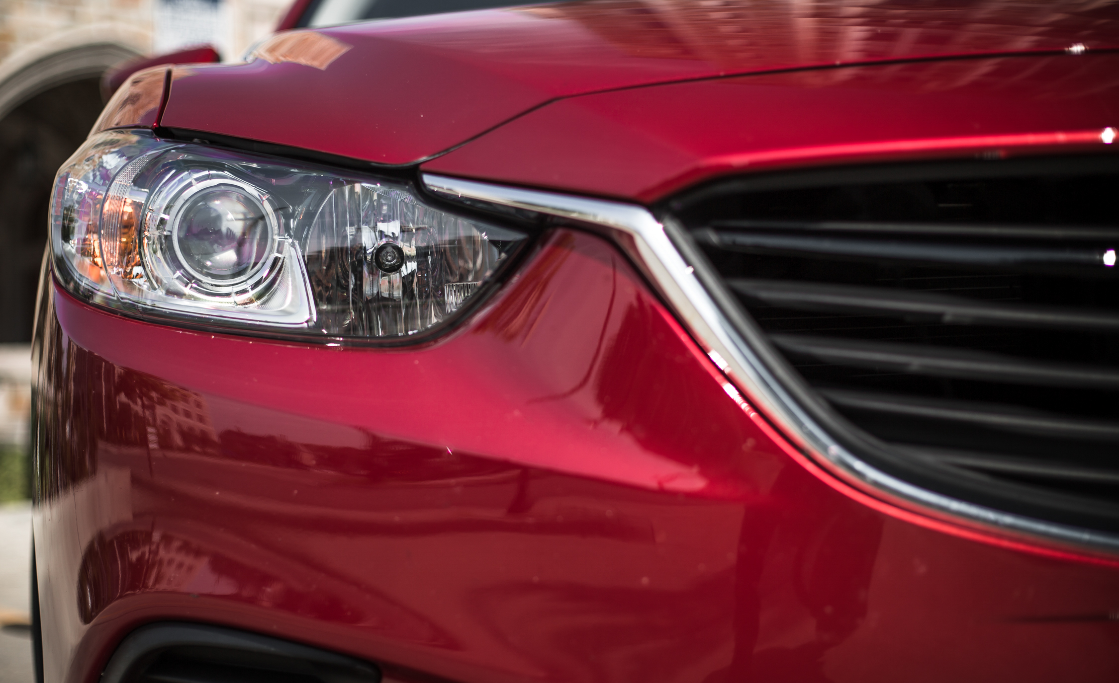 2016 Mazda 6 Touring Exterior Left Headlamp