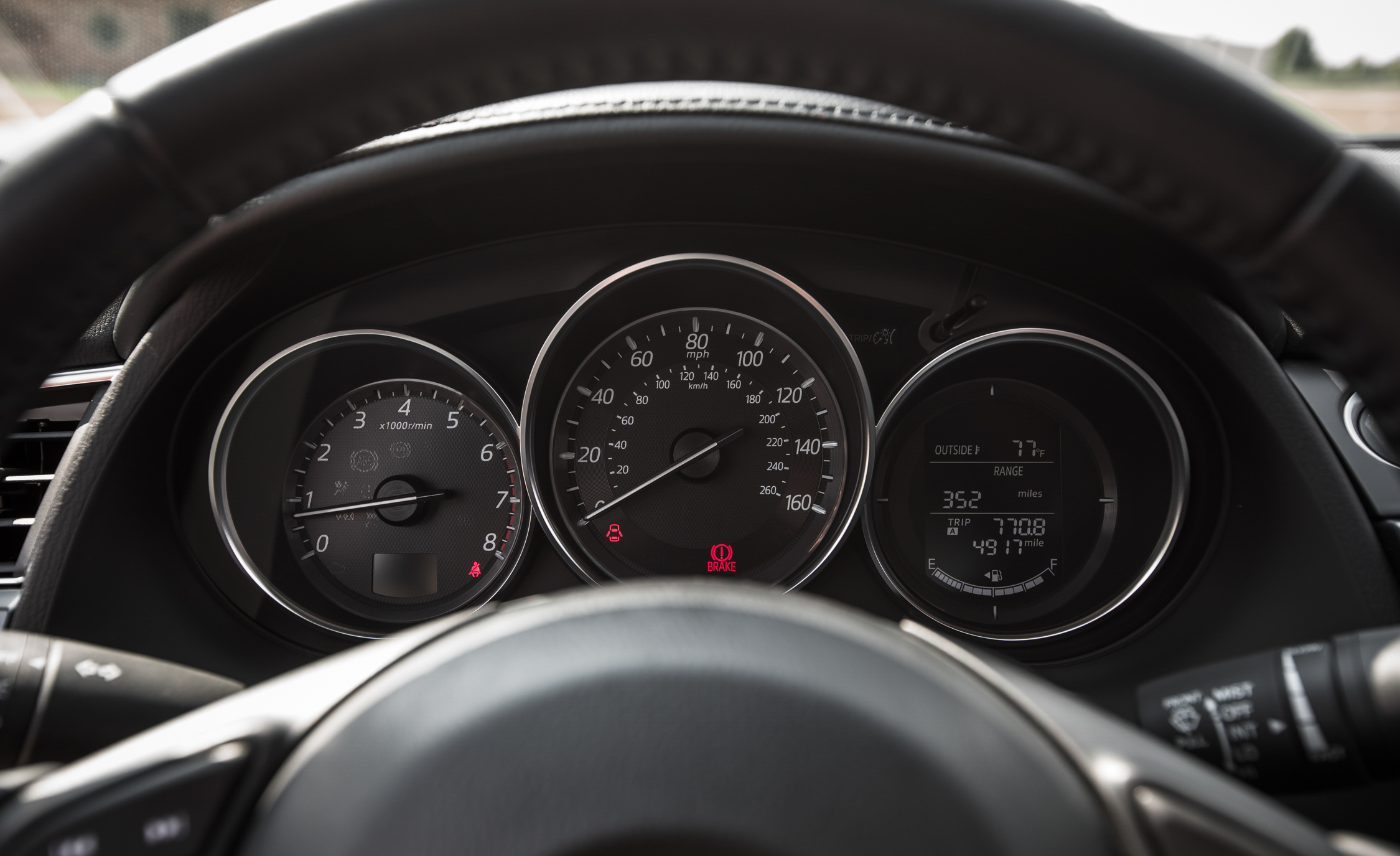 2016 Mazda 6 Touring Interior Speedometer
