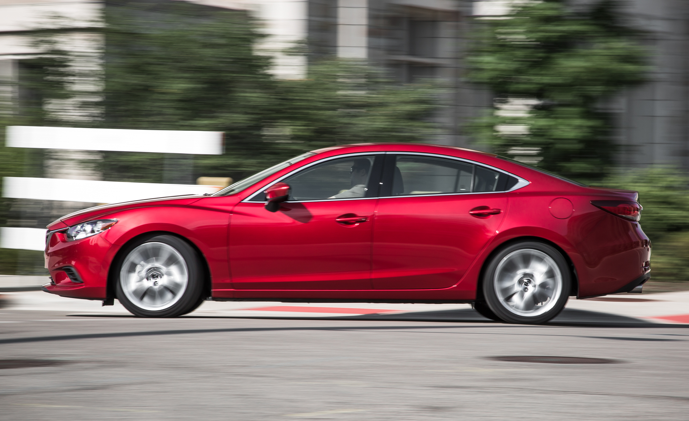 2016 Mazda 6 Touring Test Left Side View