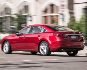 2016 Mazda 6 Touring Test Rear Side View