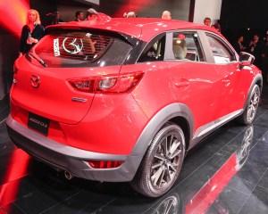 2016 Mazda CX-3 Rear Side Photo